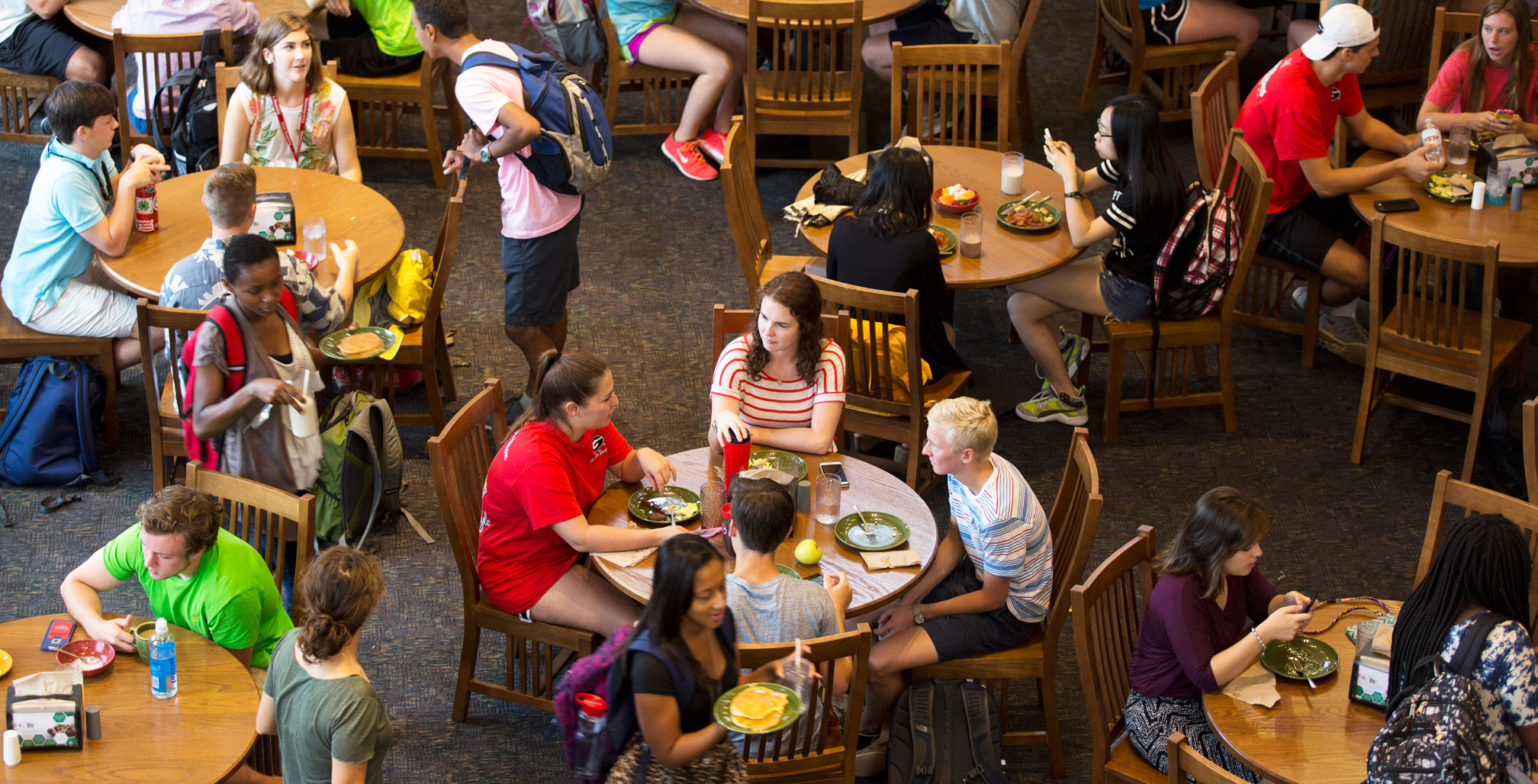 Dining commons<br> &nbsp;&nbsp;&nbsp;&nbsp;go trayless