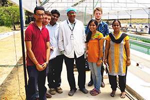 Students have an eye-opening trip to study in India