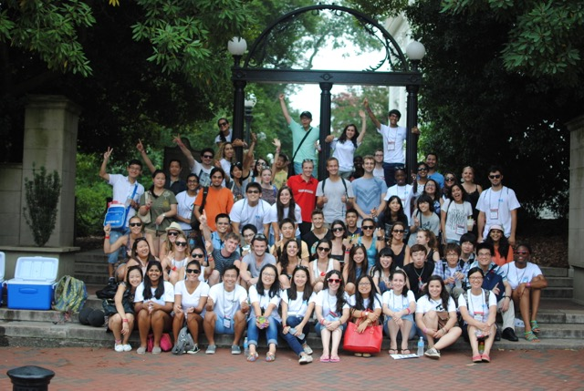 International students get an introduction to life at UGA
