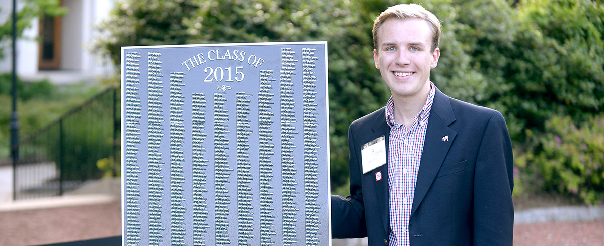Alumnus reflects on the leadership opportunities at UGA