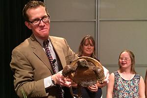 'Ranger Nick' uses animals to make classroom engaging