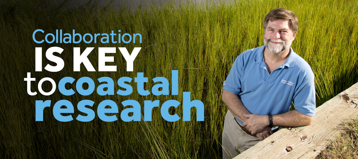Collaboration is key to coastal research