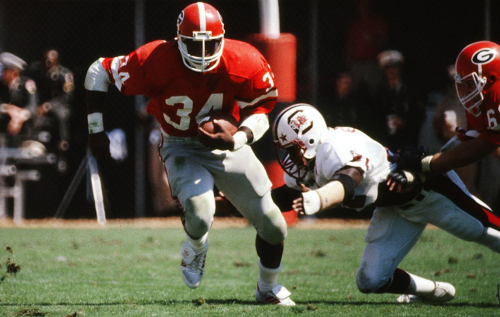 7 professional athletes who cut their teeth at UGA